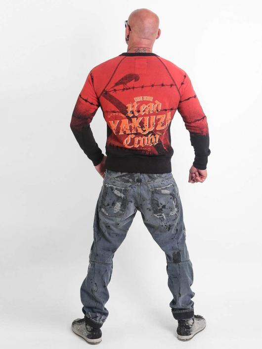 Yakuza Пуловер Read Crow красный