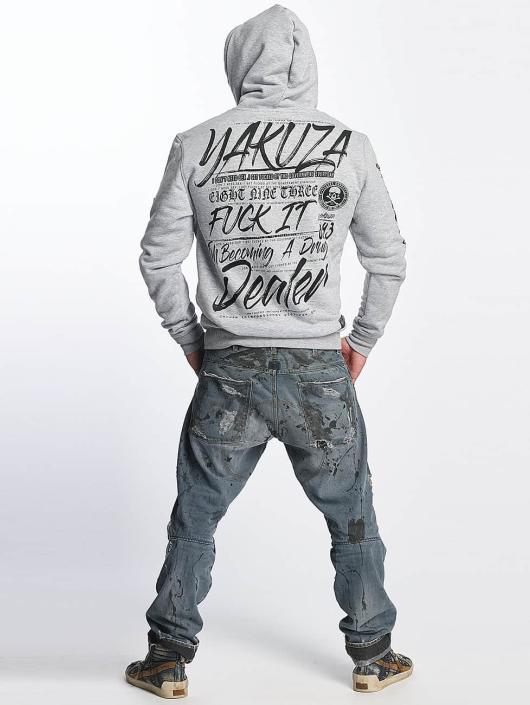 Yakuza Толстовка Drug Dealer серый