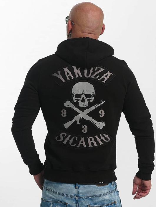 Yakuza Bluzy z kapturem Sicario czarny