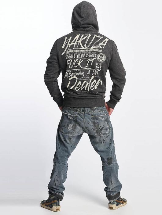 Yakuza Bluzy z kapturem Drug Dealer szary