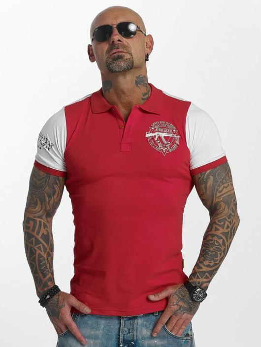 Yakuza Camiseta polo AK Two Faces rojo