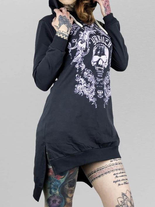 Yakuza Dress Skull Hooded blue