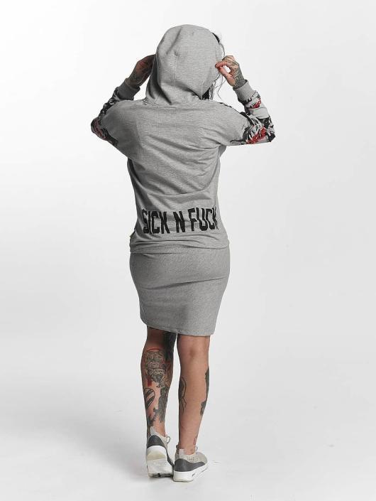 Yakuza Dress Sick N Fuck grey