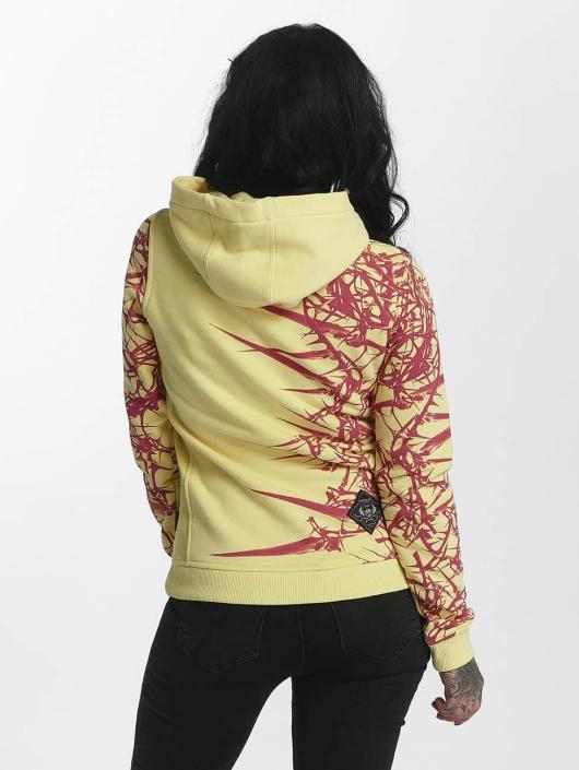 Yakuza Felpa con cappuccio Thorns Flex giallo