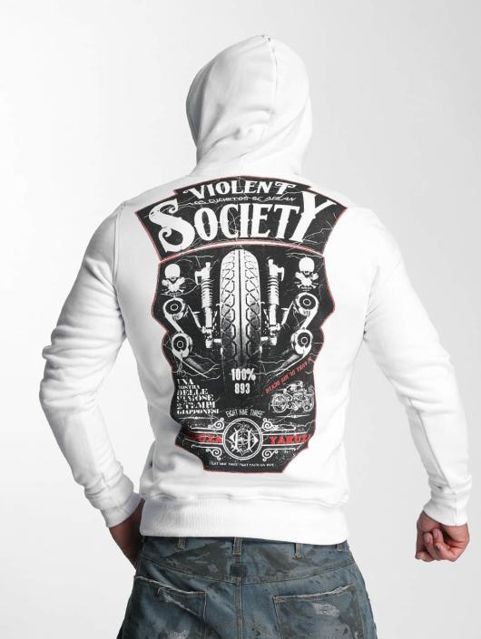 Yakuza Hettegensre Violent Society hvit