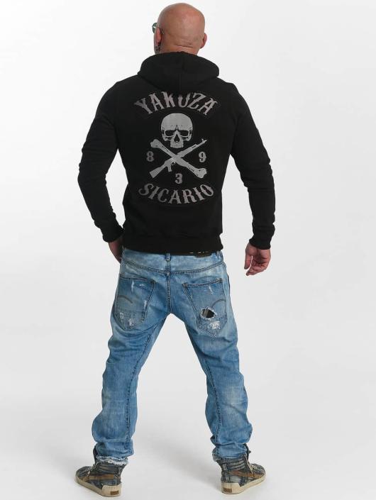 Yakuza Hoodie Sicario black