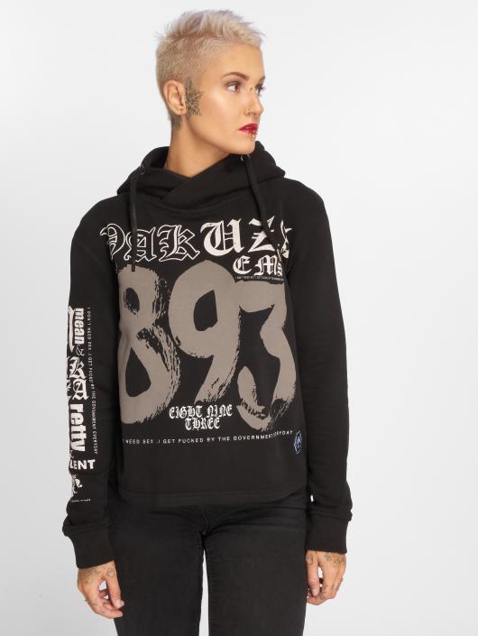 Yakuza Hoodie 893 Cropped black