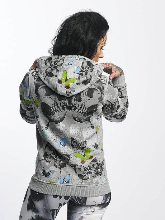 Yakuza Hoodie Butterfly Flex gray