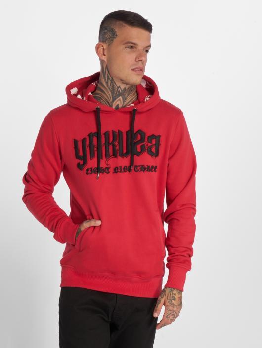 Yakuza Hoodie Undead röd