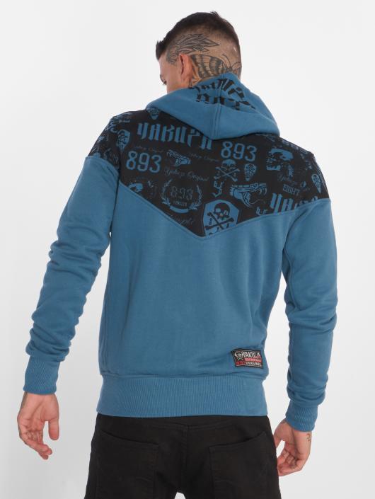 Yakuza Hoodies con zip Collos blu