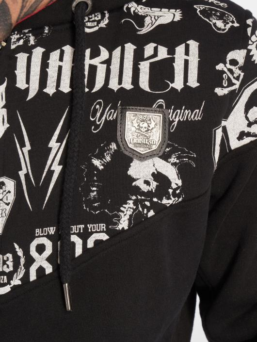 Yakuza Hoodies con zip Collos nero
