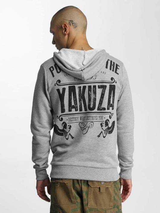 Yakuza Hoody Poverty grau