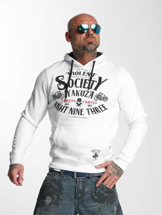 Yakuza Hoody Violent Society weiß