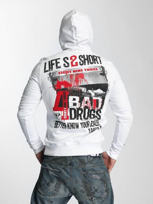 Yakuza Hoody Know Your Dealer weiß