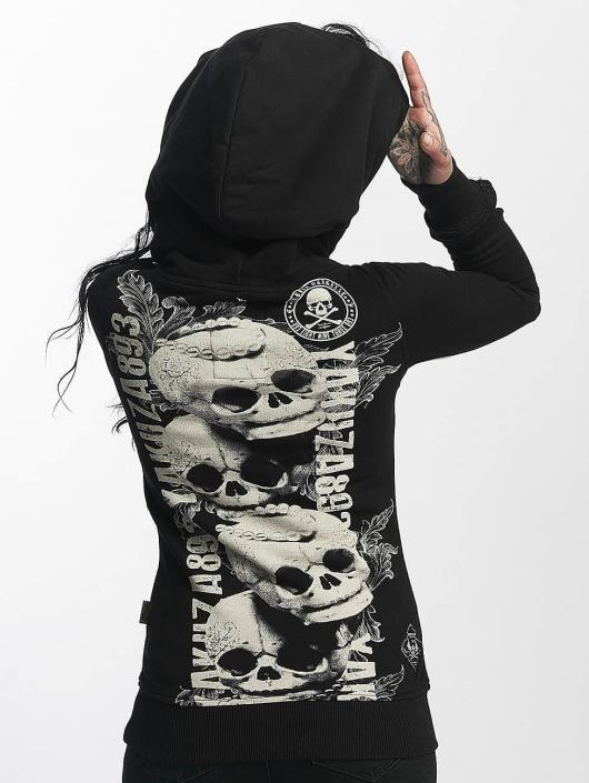 Yakuza Hupparit Skull Cross musta