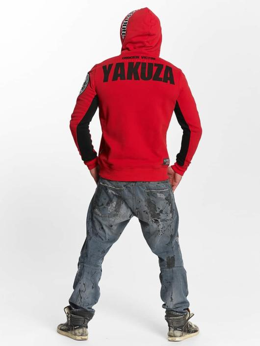 Yakuza Hupparit Chockin Victim punainen