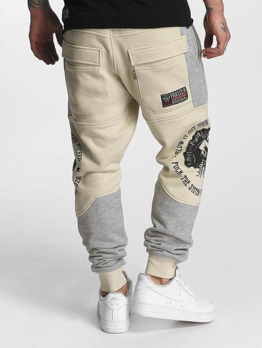 Yakuza Jogginghose Punx Two Face Antifit beige
