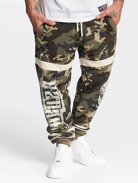 Yakuza Jogginghose Skull camouflage