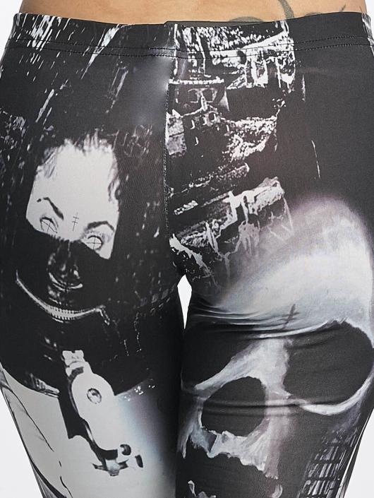 Yakuza Legging Lost City schwarz