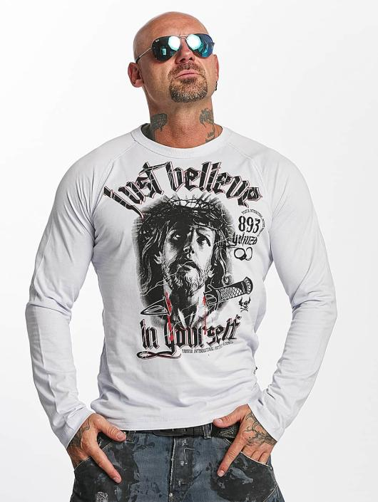 Yakuza Longsleeve Just Believe gray