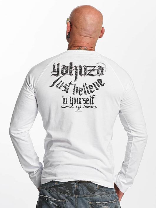 Yakuza Longsleeves Just Believe bialy