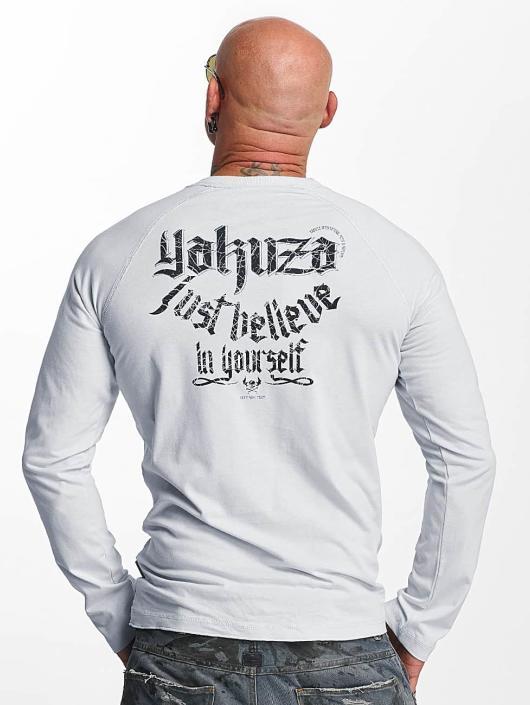 Yakuza Longsleeves Just Believe szary