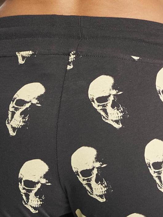 Yakuza Pantalone ginnico Allover Skull grigio