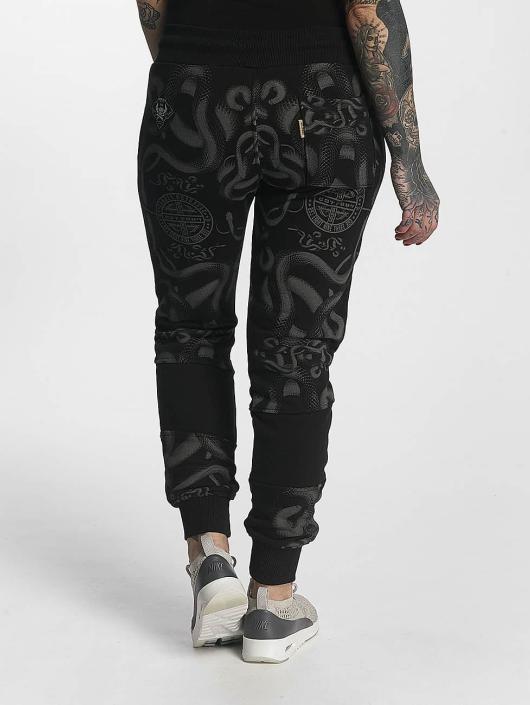 Yakuza Pantalone ginnico Sick N Fuck nero