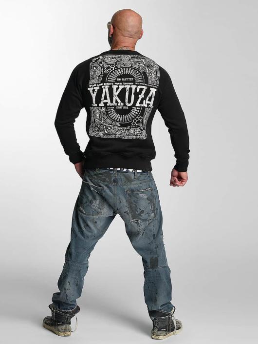 Yakuza Pullover No Matter schwarz