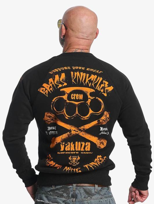 Yakuza Pullover Brass Knuckles schwarz