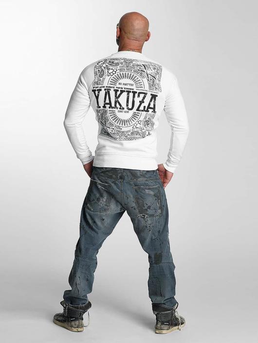 Yakuza Pullover No Matte white