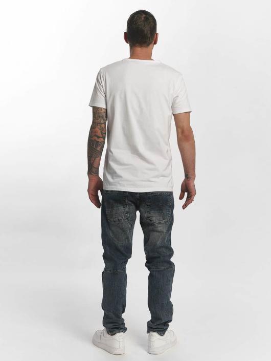Yakuza Rovné Straight Fit Jeans indigo