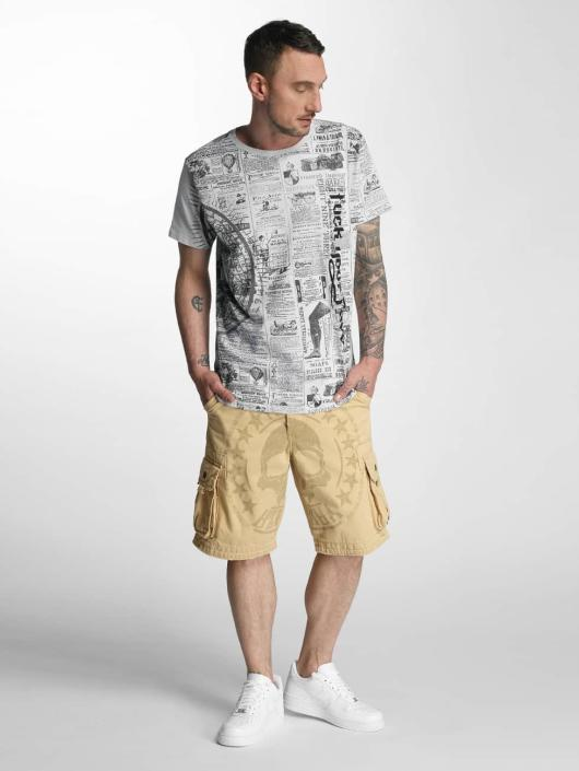Yakuza Short Skull Label beige