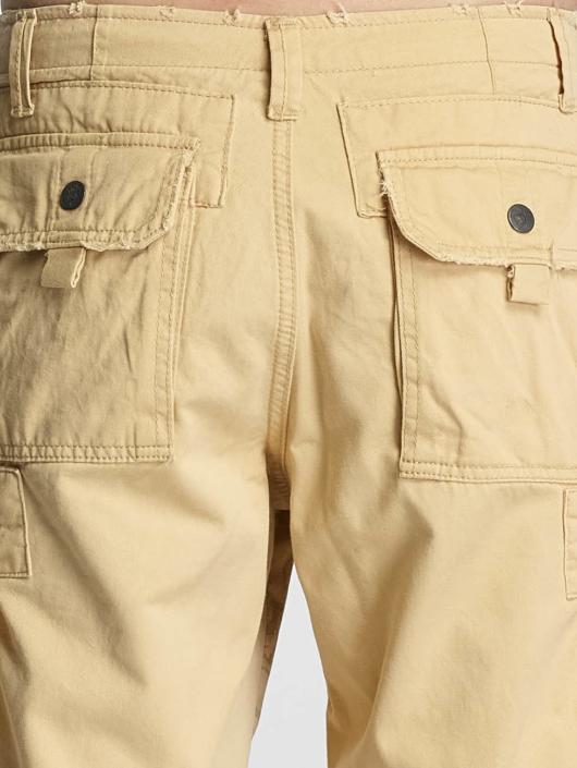 Yakuza Shorts Skull Label beige