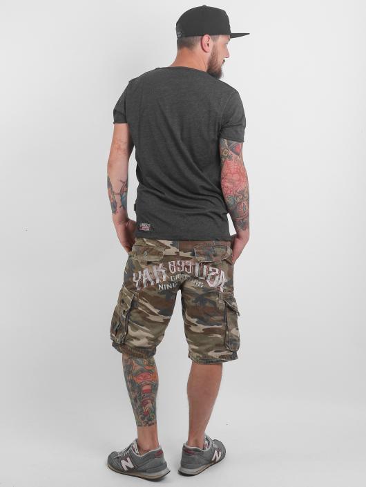 Yakuza shorts Skull camouflage