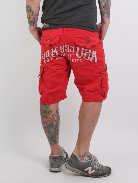 Yakuza Shorts Skull red