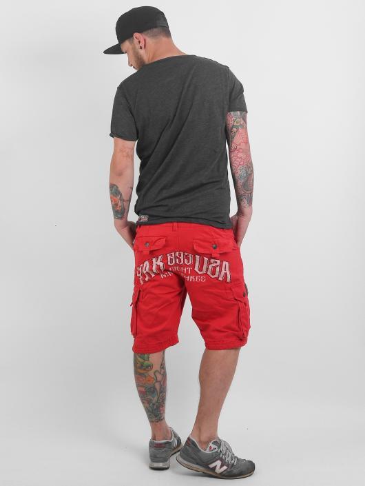 Yakuza Shorts Skull rosso