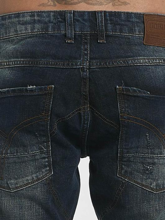 Yakuza Straight fit jeans 893 Straight blauw