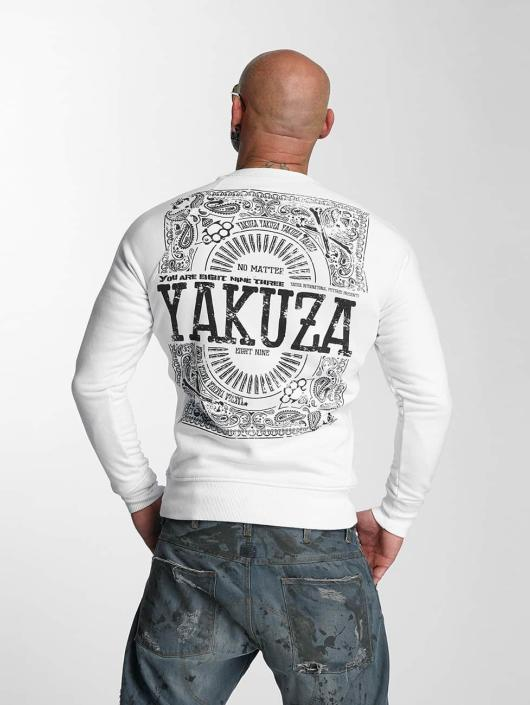 Yakuza Swetry No Matte bialy