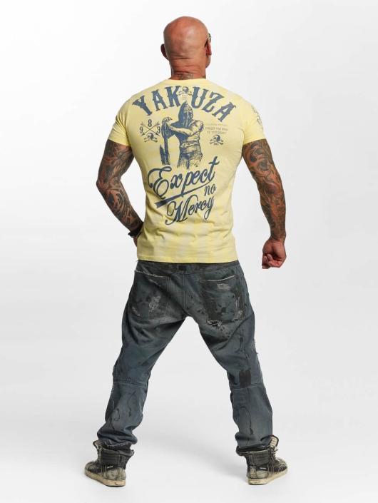 Yakuza T-paidat Expect No keltainen