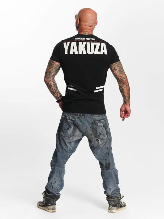 Yakuza T-paidat Chockin Victim musta