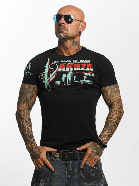 Yakuza T-paidat Havoc musta