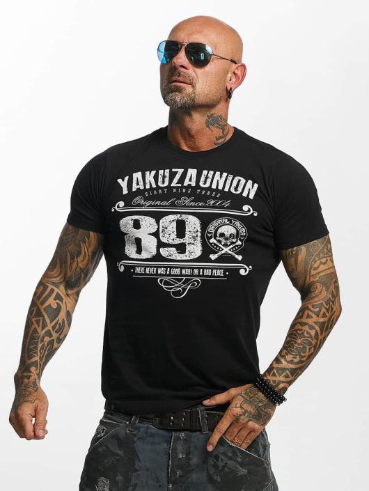 Yakuza T-paidat 893 Union musta