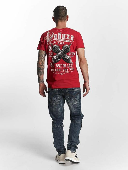 Yakuza T-paidat One Shot punainen
