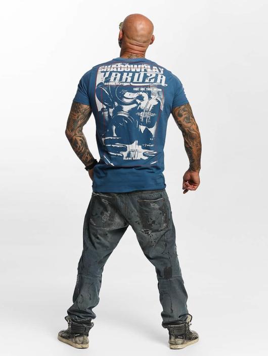 Yakuza T-paidat Shadowplay sininen