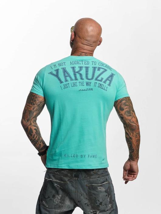 Yakuza T-paidat Addicted turkoosi