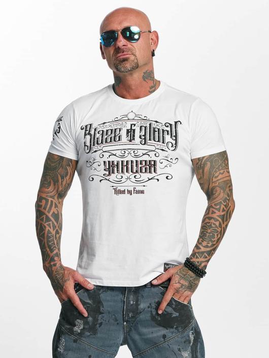 Yakuza T-paidat Blaze N Glory valkoinen