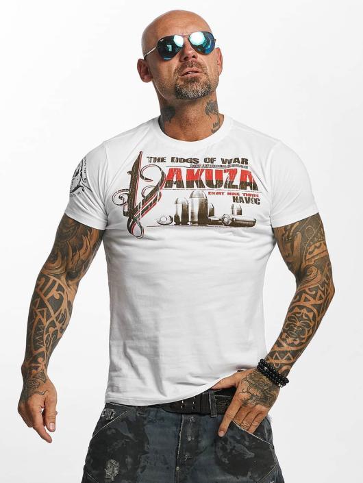 Yakuza T-paidat Havoc valkoinen