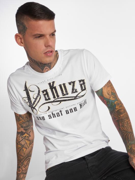 Yakuza T-paidat One Shot valkoinen