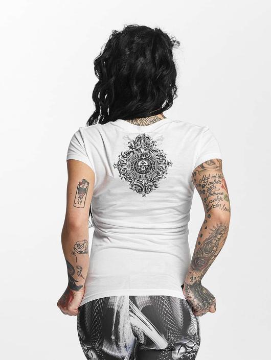 Yakuza T-shirt Don't Trust Me bianco